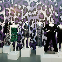 "Beijing, April,2, 2011 :  DVF dresses are displayed at the "" JOurney of  Dress"" exhibition in Beijing."