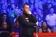 Mark Allen during the Snooker Players Championship Final at EventCity, Manchester, United Kingdom on 27 March 2016. Photo by Pete Burns.