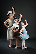 Photograph of Andanza's Ballet Academy students. (2012)
