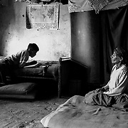 "A ""palliri"" from Siglo XX mine at her house in Llallagua. Bolivia."