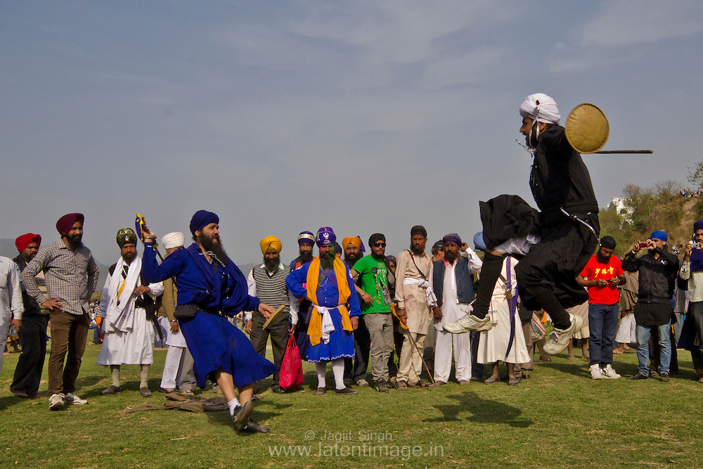 Hola Mohalla is an occasion for them to display their preparedness for war and exhibit their skills in martial arts.