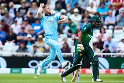 Ben Stokes of England bowls - Mandatory by-line: Robbie Stephenson/JMP - 03/06/2019 - CRICKET - Trent Bridge - Nottingham, England - England v Pakistan - ICC Cricket World Cup 2019 Group Stage