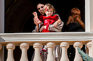 19-11-2016 - MONACO - Princess Charlene of Monaco with Princess Gabriela and Prince Albert II of Monaco with Prince Jacques . The National Day of Monaco also known as The Sovereign Prince's Day is currently annually celebrated on 19 November.  Tatiana Santo Domingo and India Casiraghi COPYRIGHT ROBIN UTRECHT<br /> <br /> 19-11-2016 - MONACO - Prinses Charlene van Monaco met Prinses Gabriela en Prins Albert II van Monaco met Prins Jacques. De Nationale Dag van Monaco ook bekend als The Sovereign Prinsjesdag wordt momenteel jaarlijks gevierd op 19 november. COPYRIGHT ROBIN UTRECHT