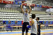 Allenamento Eurobasket 2007<br /> Andrea Bargnani
