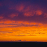 clouds over montana prairie sunset conservation photography - montana wild prairie