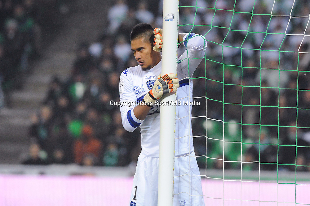 Alphonse AREOLA - 06.12.2014 - Saint Etienne / Bastia - 17eme journee de Ligue 1 -<br />