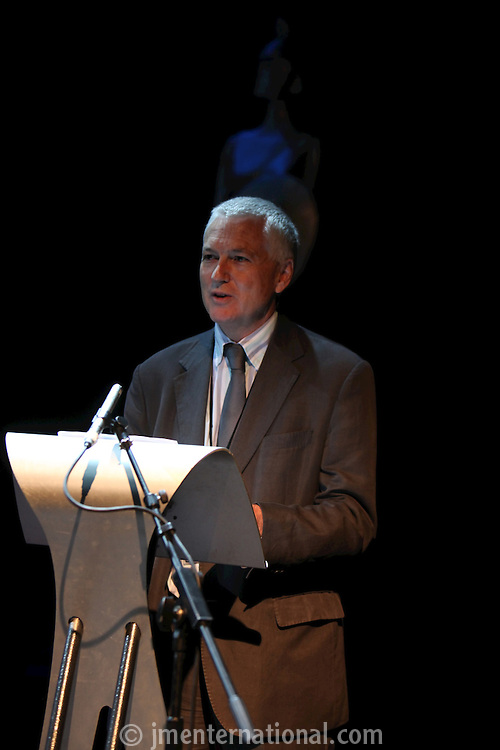 Nick Williams (BRIT School Principal), The BRIT School Industry Day, Croydon, London..Thursday, Sept.22, 2011 (John Marshall JME)