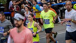 06-11-2016 USA: NYC Marathon We Run 2 Change Diabetes day 3, New York<br /> De dag van de marathon, 42 km en 195 meter door de straten van Staten Island, Brooklyn, Queens, The Bronx en Manhattan / Oscar