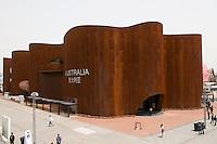 Pavillon australien,  Shanghai Expo 2010.<br /> Australian pavilion,  Shanghai Expo 2010.