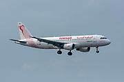 Tunisair Airbus A320 (TS-IMR) at Milan - Malpensa (MXP / LIMC) Italy