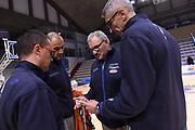 Massimo Maffezzoli, Matteo Panichi, Romeo Meo Sacchetti, Paolo Conti<br /> Nazionale A - Mini raduno a Cremona - Allenamento<br /> FIP 2017<br /> Cremona, 11/12/2017<br /> Foto M.Ceretti / Ciamillo-Castoria