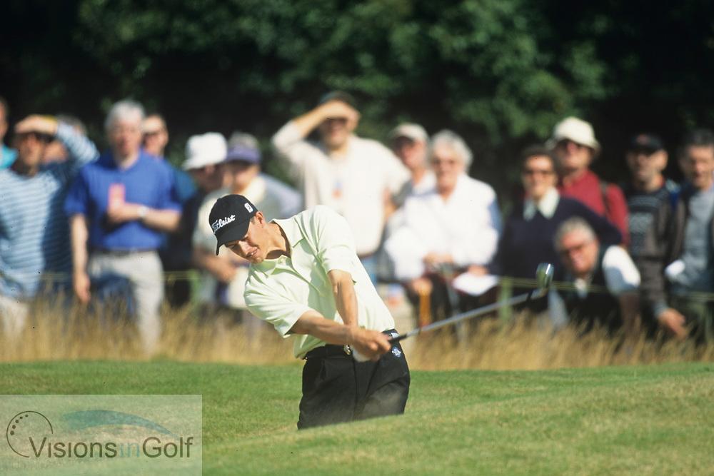 Adam Scott<br /> The PGA Championship<br /> 2001<br /> <br /> Pictures Credit: Mark Newcombe/visionsingolf.com