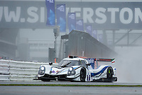 Roberto Lacorte (ITA) / Niccolo Schiro (ITA) / Giorgio Sernagiotto (ITA)  #7 Villorba Corse, Ligier JS P3, Nissan VK50VE 5.0 L V8, during Qualifiying for the ELMS  as part of the ELMS 4 Hours of Silverstone 2016 at Silverstone, Towcester, Northamptonshire, United Kingdom. April 16 2016. World Copyright Peter Taylor. Copy of publication required for printed pictures.