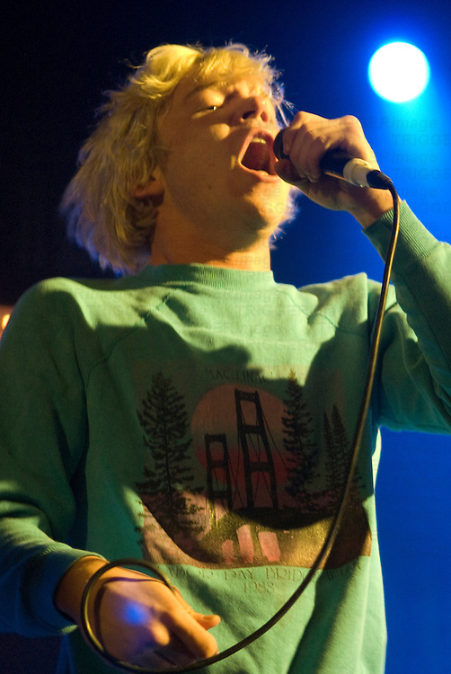 Cage The Elephant playing at XFM Winter Wonderland in Manchester