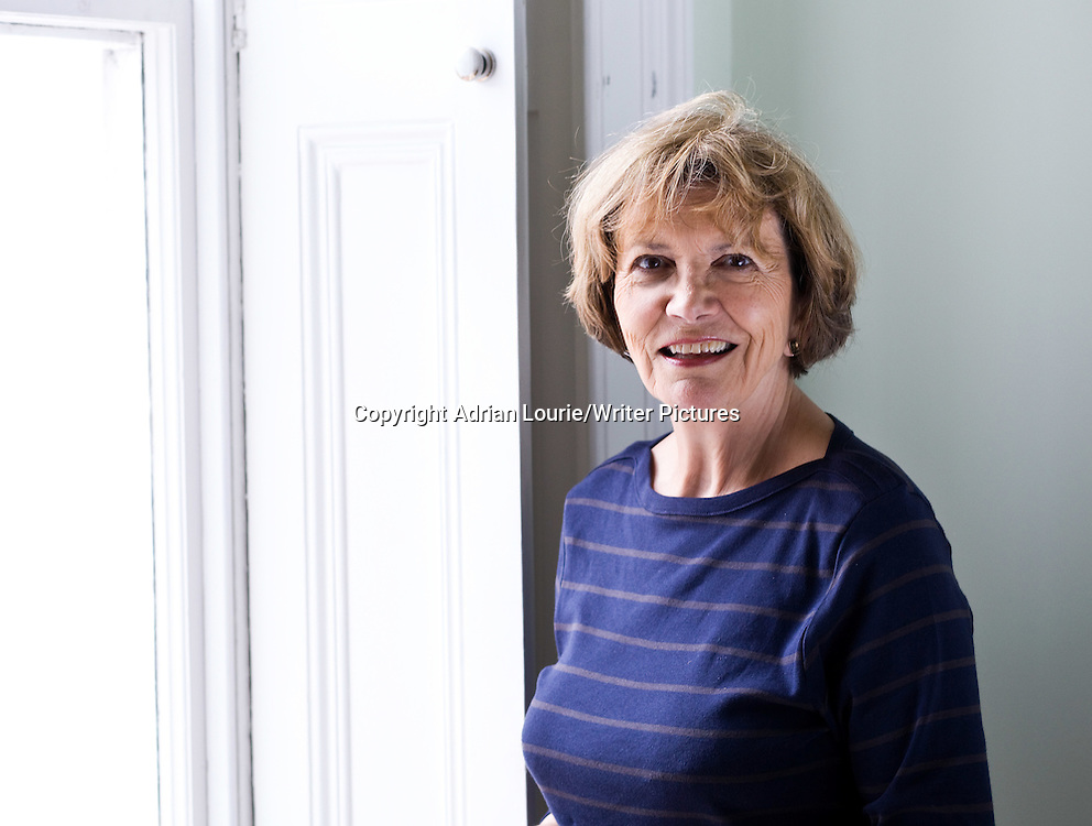 Joan Bakewell, photographed at home in North London