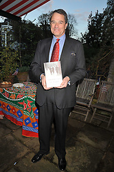 CHARLES GLASS at a party to celebrate the publication of Charles Glass's new book 'Americans in Paris' held at 12 Lansdowne Road, London W1 on 25th March 2009.