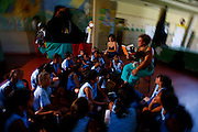 Timoteo_MG, Brasil...A Escola Estadual Capitao Egidio Lima conseguiu refazer seu curriculo, sem ajuda da rede. O grande forte la e a valorizacao da cultura afro-brasileira. Na foto, oficinas de leitura...The State School Capitao Egidio Lima. The school values the african-Brazilian culture. In this photo, the reading workshops. ..Foto: LEO DRUMOND / NITRO.