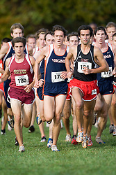Virginia Cavaliers Emil Heineking (176)..The Atlantic Coast Conference Cross Country Championships were held at Panorama Farms near Charlottesville, VA on October 27, 2007.  The men raced an 8 kilometer course while the women raced a 6k course.