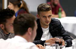 Jamie Paterson of Bristol City at the City Foundation Quiz - Mandatory by-line: Robbie Stephenson/JMP - 19/09/2016 - FOOTBALL - Ashton Gate - Bristol, England - Bristol City Community Trust Quiz