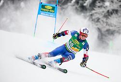 Tim Jitloff of USA competes during 1st run of Men's GiantSlalom race of FIS Alpine Ski World Cup 57th Vitranc Cup 2018, on March 3, 2018 in Kranjska Gora, Slovenia. Photo by Ziga Zupan / Sportida