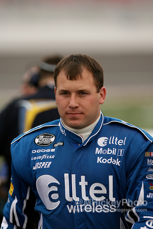 Ryan Newman seen on pit lane during qualifications at Las Vegas Motor Speedway.