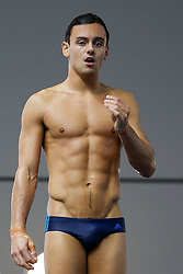Tom Daley looks on - Photo mandatory by-line: Rogan Thomson/JMP - 07966 386802 - 20/02/2015 - SPORT - DIVING - Plymouth Life Centre, England - Day 1 - British Gas Diving Championships 2015.