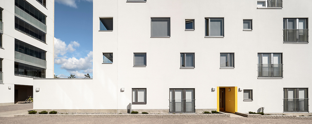 Agronominkatu 1 housing in Helsinki, finland designed by AOA architects.