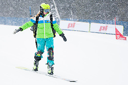Iva Polanec (SLO) during Qualification Run of Ladie's Parallel Giant Slalom at FIS Snowboard World Cup Rogla 2016, on January 23, 2016 in Course Jasa, Rogla, Slovenia. Photo by Urban Urbanc / Sportida