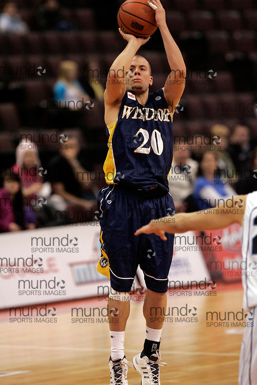 CIS Basketball Champioships-Ottawa, March 19, 2010, Windsor Lancers-Enrico Diloreto