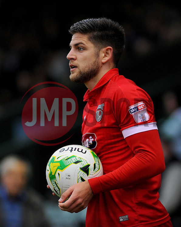 Danny Andrew of Grimsby Town  - Mandatory by-line: Nizaam Jones/JMP - 29/10/2016/ - FOOTBALL - Hush Park - Yeovil, England - Yeovil Town v Grimsby Town - Sky Bet League Two