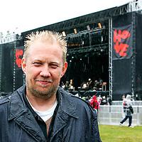 Festivalgeneral Toffen Gunnufsen p&aring; Hovefestivalen.<br /> Tor Erik Schr&oslash;der NTB scanpix