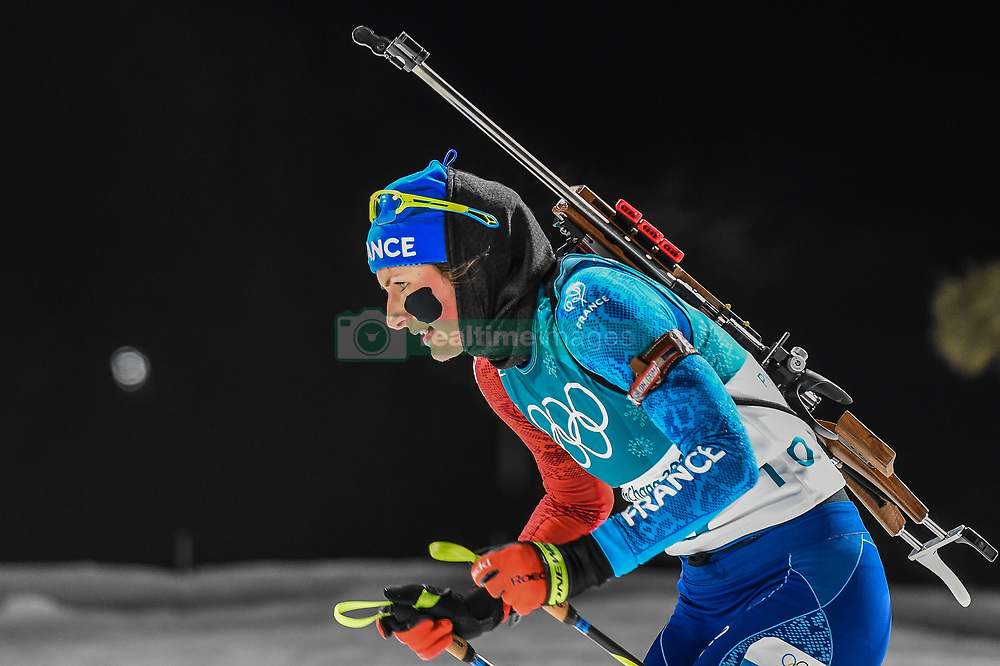 February 12, 2018 - Pyeongchang, Gangwon, South Korea - Anais Chevalier of France  competing at Women's 10km Pursuit, Biathlon, at olympics at Alpensia biathlon stadium, Pyeongchang, South Korea. on February 12, 2018. (Credit Image: © Ulrik Pedersen/NurPhoto via ZUMA Press)