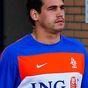 NLD/Katwijk/20100809 - Training van het Nederlands elftal, Otman Bakkal
