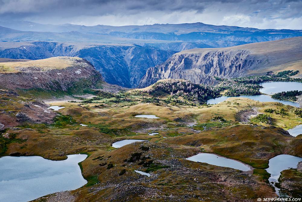 Beartooth Highway, Beartooth Pass, Shoshone National Forest, Cody, Wyoming, Redlodge, Montana