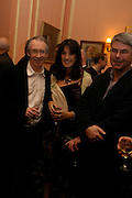 Ian McEwan, Gail Rebuck and Dan Franklin,  Book party for Saturday by Ian McEwan, Polish Club, South Kensington.  4 February 2005. ONE TIME USE ONLY - DO NOT ARCHIVE  © Copyright Photograph by Dafydd Jones 66 Stockwell Park Rd. London SW9 0DA Tel 020 7733 0108 www.dafjones.com