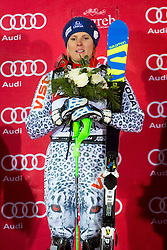 "Veronika Velez Zuzulova (SVK) during FIS Alpine Ski World Cup 2016/17 Ladies Slalom race named ""Snow Queen Trophy 2017"", on January 3, 2017 in Course Crveni Spust at Sljeme hill, Zagreb, Croatia. Photo by Ziga Zupan / Sportida"