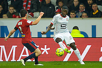 Paul Georges Ntep - 15.03.2015 - Lille / Rennes - 29e journee Ligue 1<br /> Photo : Andre Ferreira / Icon Sport