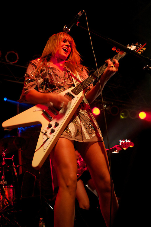 Grace Potter and the Nocturnals plays Higher Ground in South Burlington, Vermont on Jnauary 1, 2011.