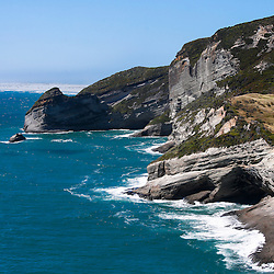 Cape Farewell, with Farewell Spit in the distance, South Island of New Zealand