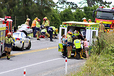 Tauranga-Fatal accident on SH2 at Whakamarama