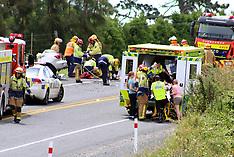 Tauranga-Fatal accident on SH2 at Whakamarama