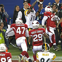 NFL Superbowl 43 between the Arizona Cardinals and the Pittsburg Steelers at Raymond James Stadium in Tampa, Florida on February 1, 2009. The Steelers won the game 27-23.  Photo Credit: Alex Menendez