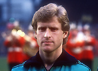 Ian Stewart, footballer, Newcastle United & N Ireland, April, 1986, 19860411IS<br /> <br /> Copyright Image from Victor Patterson, 54 Dorchester Park, <br /> Belfast, UK, BT9 6RJ<br /> <br /> t1: +44 28 9066 1296 (from Rep of Ireland 048 9066 1296)<br /> t2: +44 28 9002 2446 (from Rep of Ireland 048 9002 2446)<br /> m: +44 7802 353836<br /> <br /> e1: victorpatterson@me.com<br /> e2: victorpatterson@gmail.com<br /> <br /> www.victorpatterson.com<br /> <br /> Please see my Terms and Conditions of Use at VICTORPATTERSON.COM. It is IMPORTANT that you familiarise yourself with them.<br /> <br /> Images used on the Internet must be visibly watermarked i.e. ©VICTORPATTERSON.COM within the body of the image and copyright metadata must not be deleted. Images used on the Internet have a size restriction of 4kbs and are chargeable at the then current NUJ rates.<br /> <br /> This image is only available for the use of the download recipient i.e. television station, newspaper, magazine, book publisher, etc, and must not be passed on to any third party. It is also downloaded on condition that each and every usage is notified within 7 days to victorpatterson@me.com<br /> <br /> The right of Victor Patterson to be identified as the author is asserted in accordance with The Copyright Designs And Patents Act (1988).