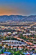 Universal City; CA; overlook; San Fernando Valley; San Gabriel mountain; Universal Studios; Burbank; Glendale; CA;