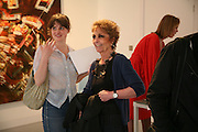 Joanne Robinson and Paula Rego, Anticipation.- Produced by Flora Fairbairn. Curated by Kay Saatchi and Catriona Warren. 111 Great Titchfield St. London W1. 23 May 2007.  -DO NOT ARCHIVE-© Copyright Photograph by Dafydd Jones. 248 Clapham Rd. London SW9 0PZ. Tel 0207 820 0771. www.dafjones.com.