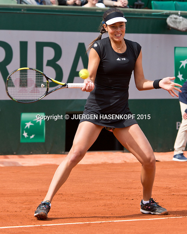 Ana Ivanovic (SRB)<br /> <br /> Tennis - French Open 2015 - Grand Slam ITF / ATP / WTA -  Roland Garros - Paris -  - France  - 29 May 2015.