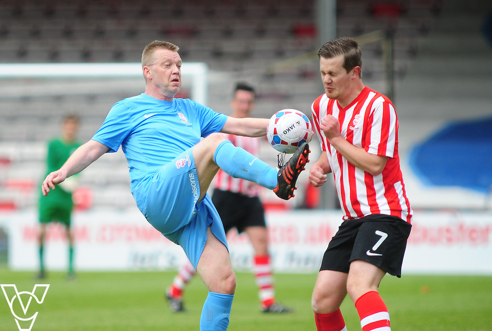 Lincoln City Youth Academy Pro4Ninety match at Sincil Bank Stadium, Lincoln.<br /> <br /> Picture: Andrew Vaughan/Chris Vaughan Photography<br /> Date: Saturday, May 9, 2015