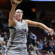 UNCASVILLE, CONNECTICUT- MAY 05:  Jayne Appel #32 of the San Antonio Stars in action during the San Antonio Stars Vs Connecticut Sun preseason WNBA game at Mohegan Sun Arena on May 05, 2016 in Uncasville, Connecticut. (Photo by Tim Clayton/Corbis via Getty Images)