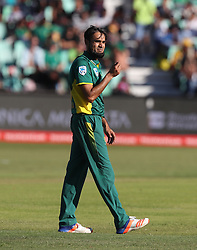 Imran Tahir of South Africa during the 3rd ODI match between South Africa and Australia held at Kingsmead Stadium in Durban, Kwazulu Natal, South Africa on the 5th October  2016<br /> <br /> Photo by: Steve Haag/ RealTime Images