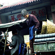 Coal is used widely in every household both as a mean of heating, cooking.  Part of the coal is sold on the streets to the people. Individuals buy it in large amounts and in a rough form and then sold on the streets in carts and on bicycles.